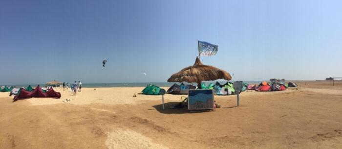 El Gouna kitespot