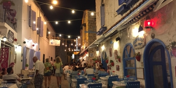 Alacati by night