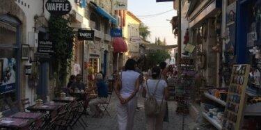 Smalle straatjes Alacati