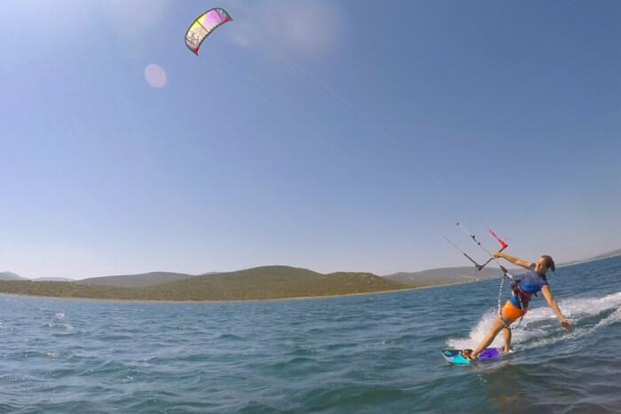 Kitesurfen Gülbahçe