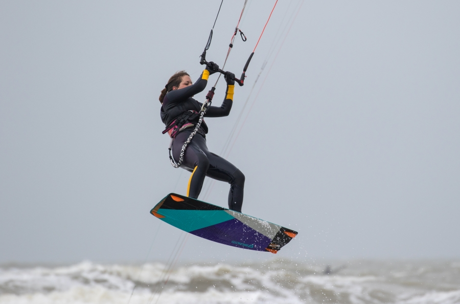 Kitesurfen winter