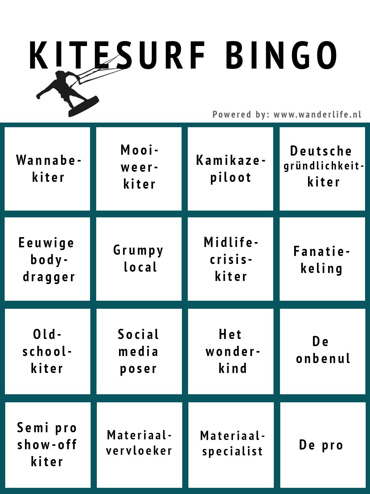 Kitesurf Bingo NL