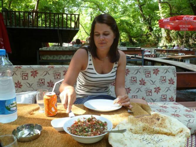 Lunchen in Kemer