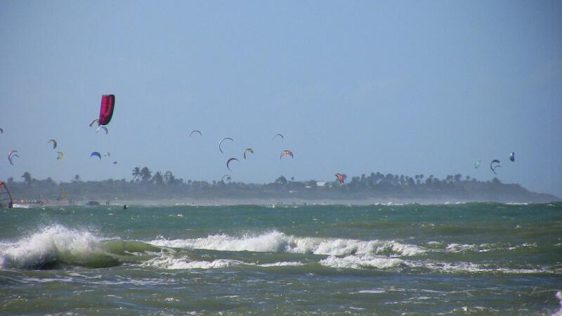 Kitesurf bay