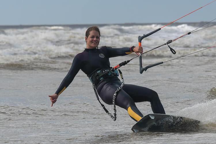 Kitesurfen extreme sport