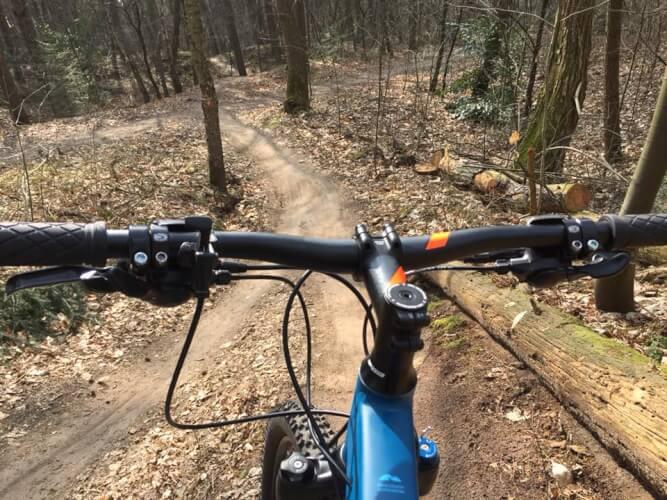 MTB winter trail