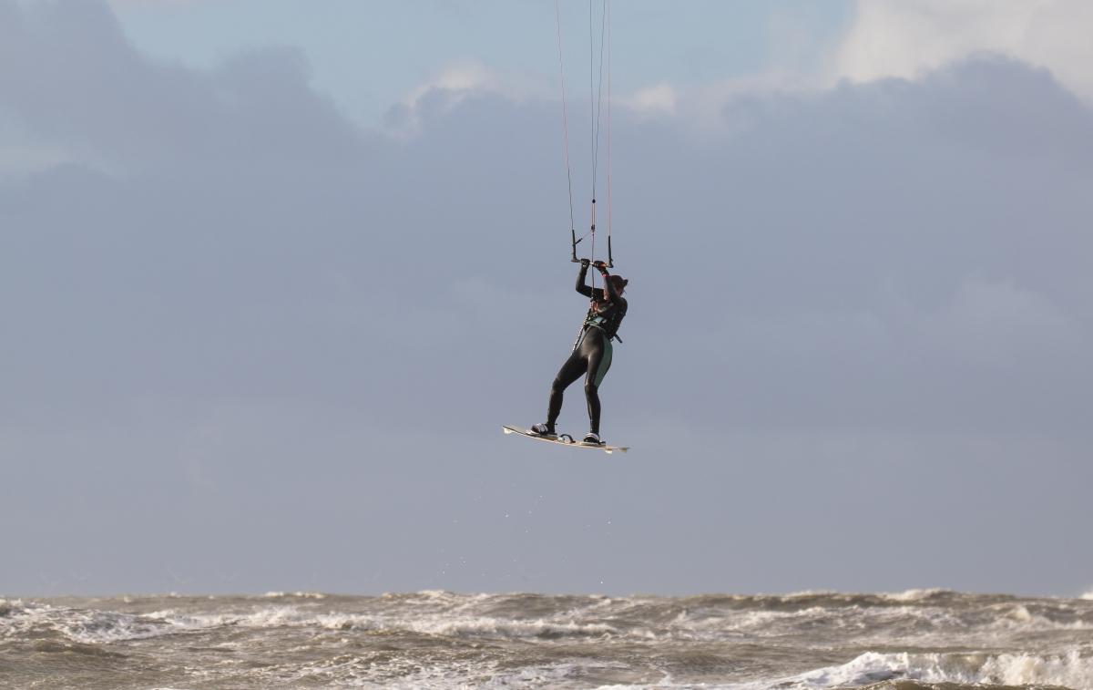 Surfersoor kitesurfen